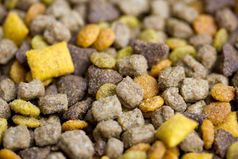 Pet Food. A macro close up of dry pet food royalty free stock photos