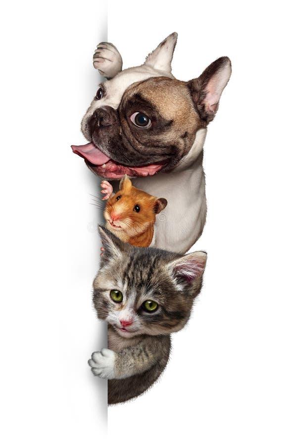 Download Pet group Sign Vertical stock illustration. Image of copy - 32992200