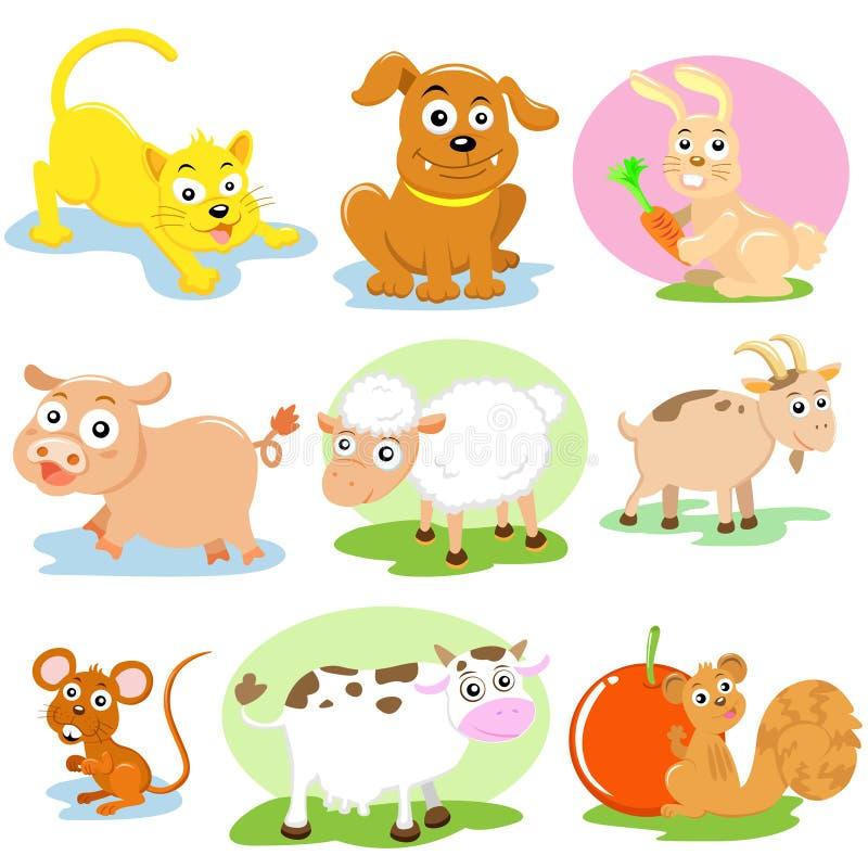 Pet set stock illustration