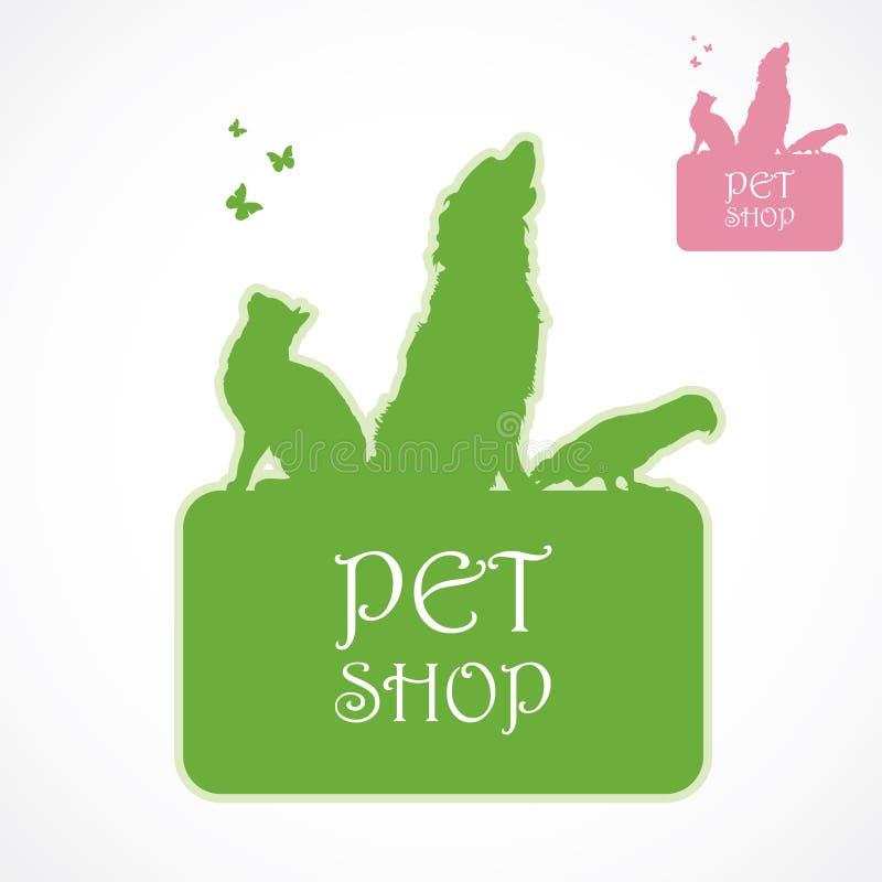 Download Pet shop label stock vector. Image of order, sell, shop - 29491564