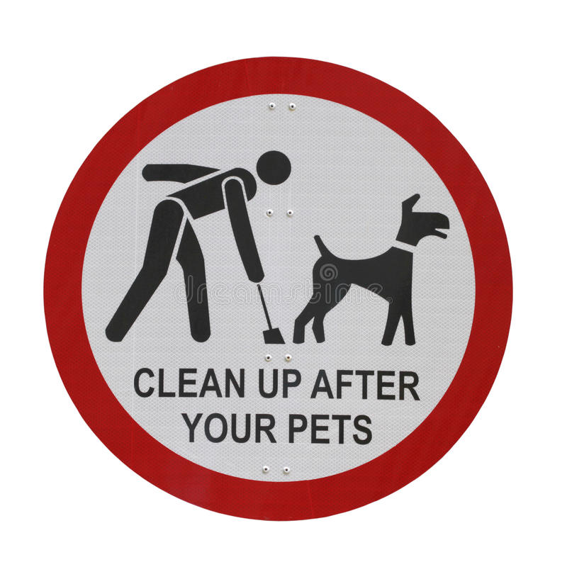 Download Pet Sign Isolated stock photo. Image of owner, background - 22938304