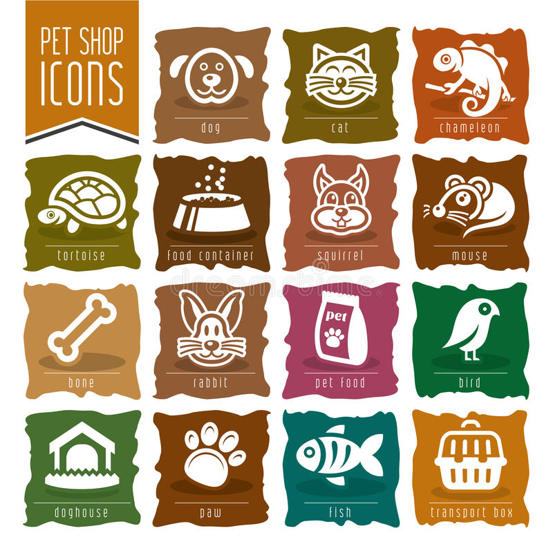 Free Pet, Vet, Pet Shop Icon Set - 2 Royalty Free Stock Photography - 50430767
