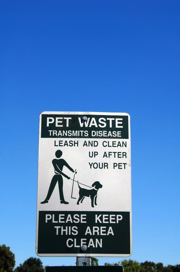 Download Pet Waste Sign Royalty Free Stock Image - Image: 23760766