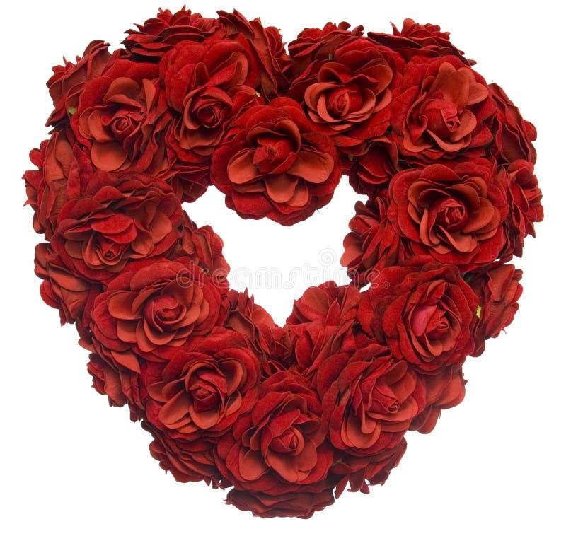 petal serca wzrosła fotografia stock