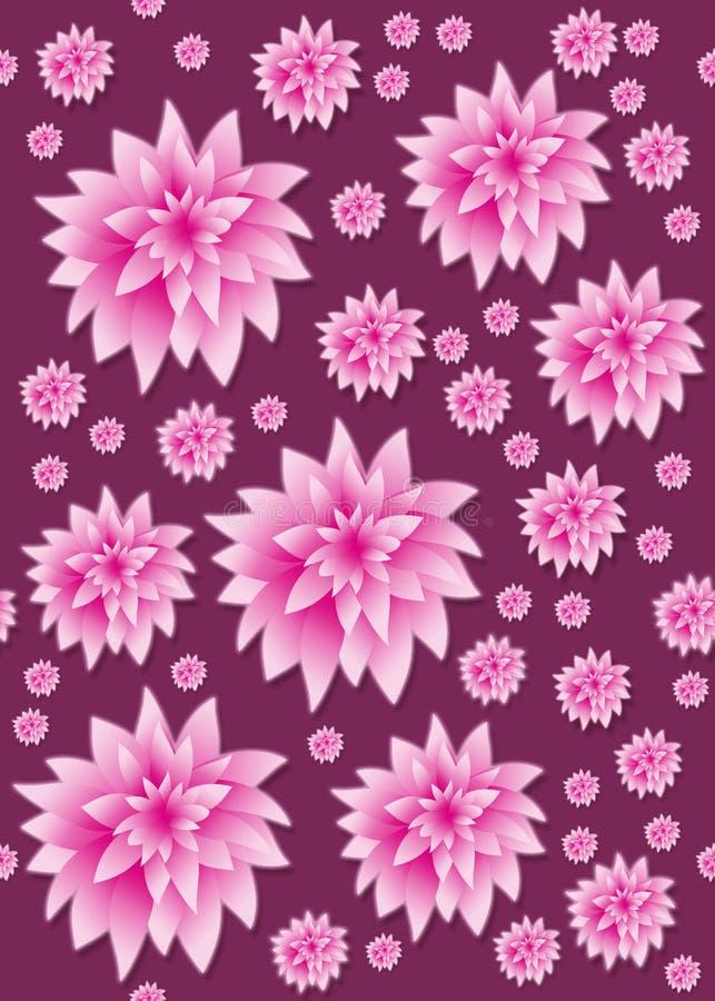 Petali floreali senza giunte royalty illustrazione gratis