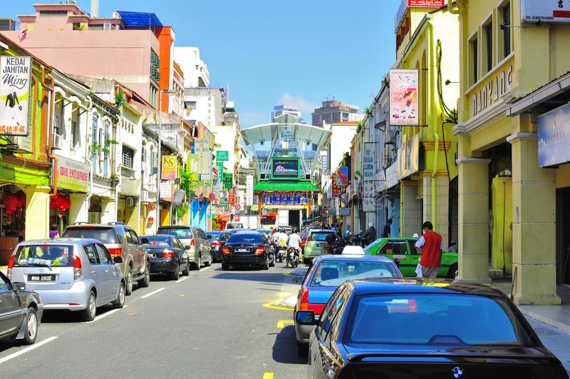 petaling Malaysia ulica zdjęcia stock