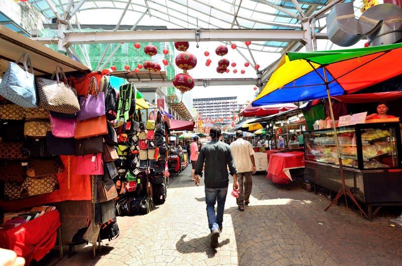Petaling Straße lizenzfreie stockfotografie