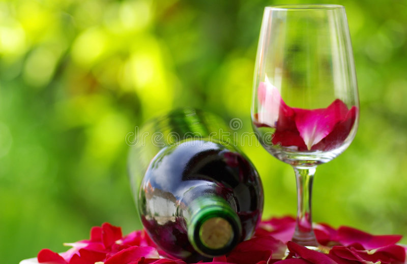 Download Petals Of Rose In A  Glass . Stock Image - Image: 4925005