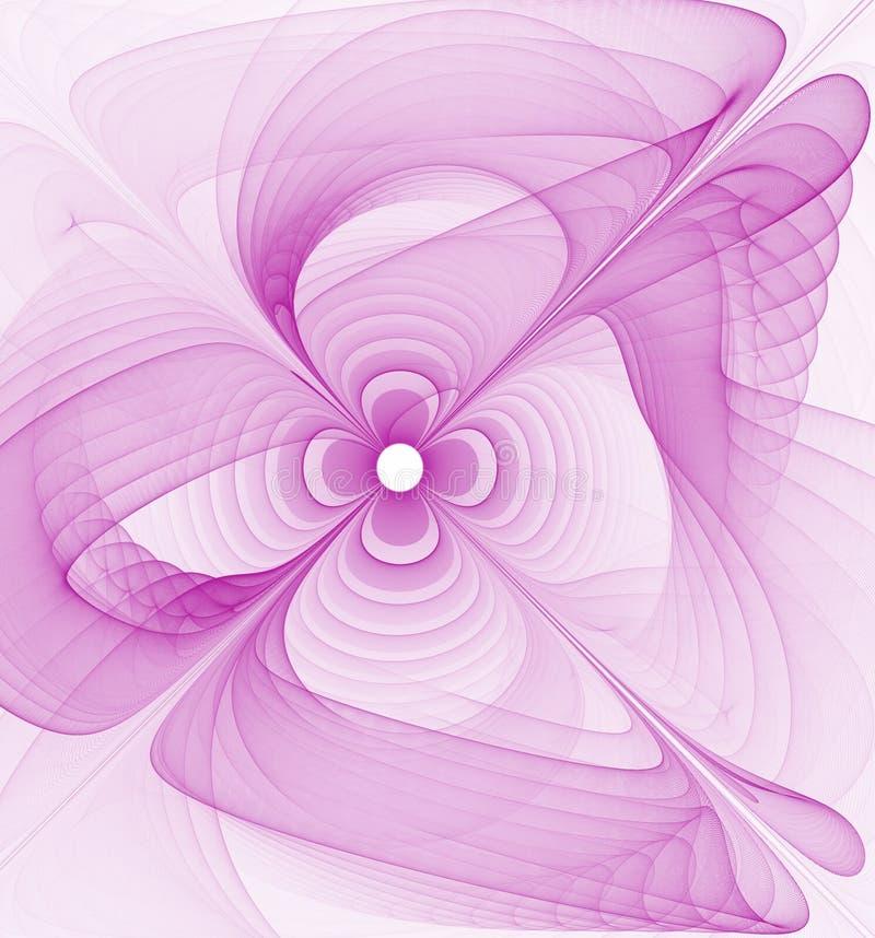 petalspink vektor illustrationer
