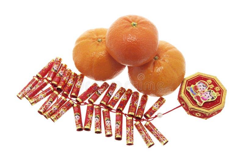 petard mandarynki pomarańcze zdjęcie stock