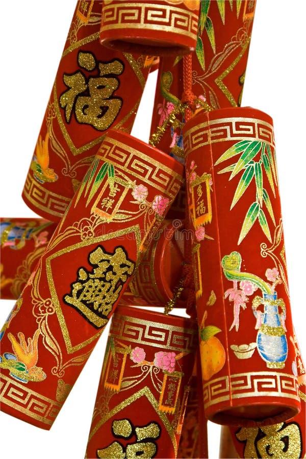 Petardi cinesi immagini stock