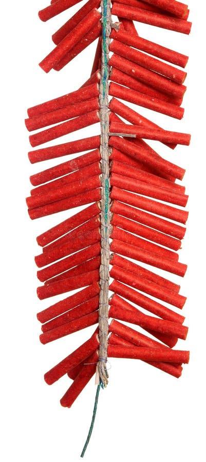 Petardos rojos foto de archivo libre de regalías