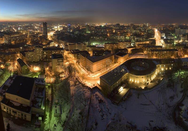 Petchersk Panorama lizenzfreie stockfotografie