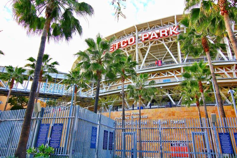 The Petco Park Baseball Stadium royalty free stock image