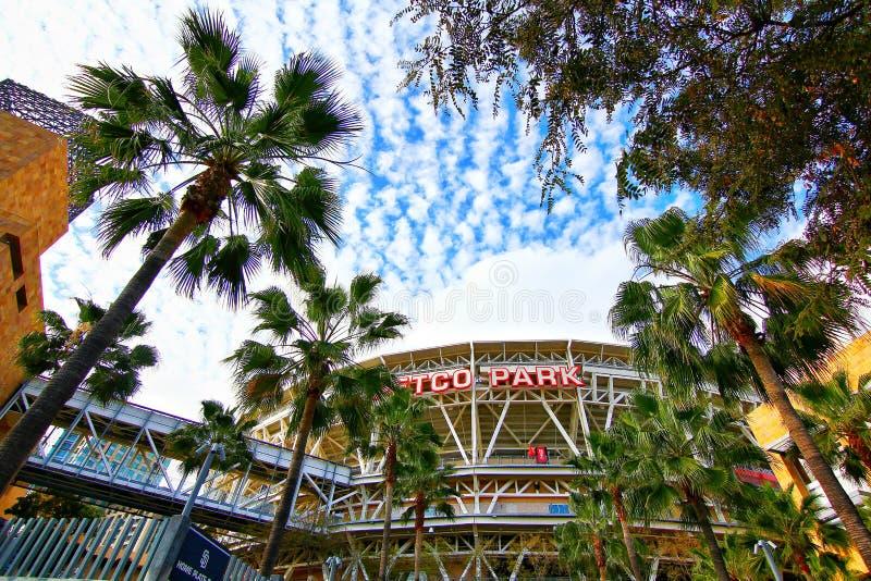 The Petco Park Baseball Stadium royalty free stock photo