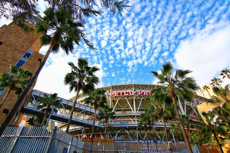 The Petco Park Baseball Stadium royalty free stock photos