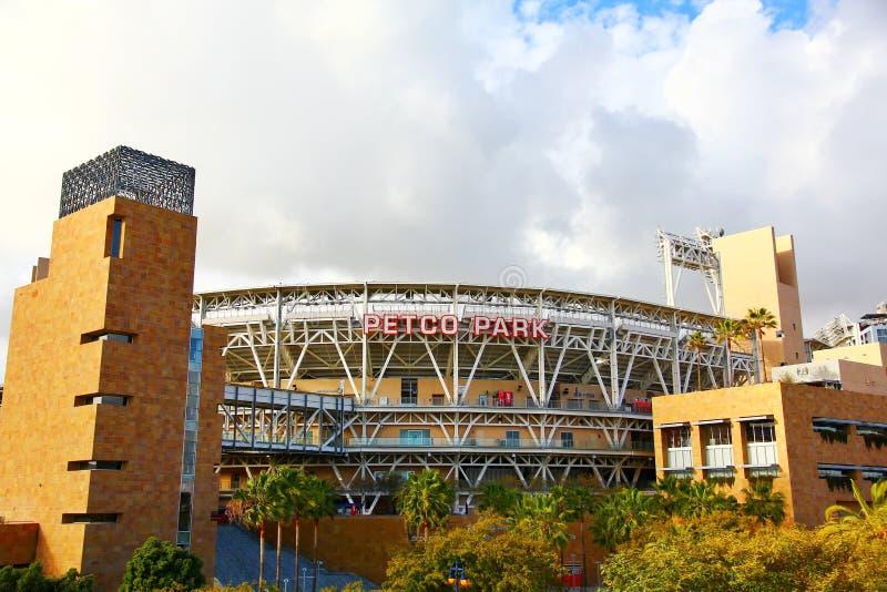 The Petco Park Baseball Stadium stock images