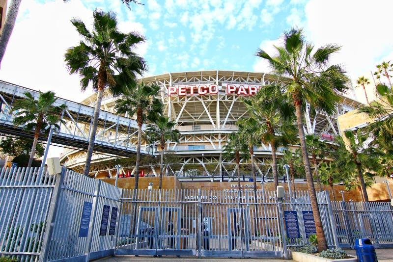 The Petco Park Baseball Stadium stock image