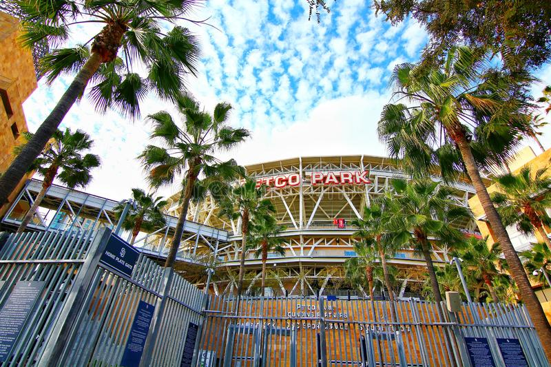 The Petco Park Baseball Stadium royalty free stock photography