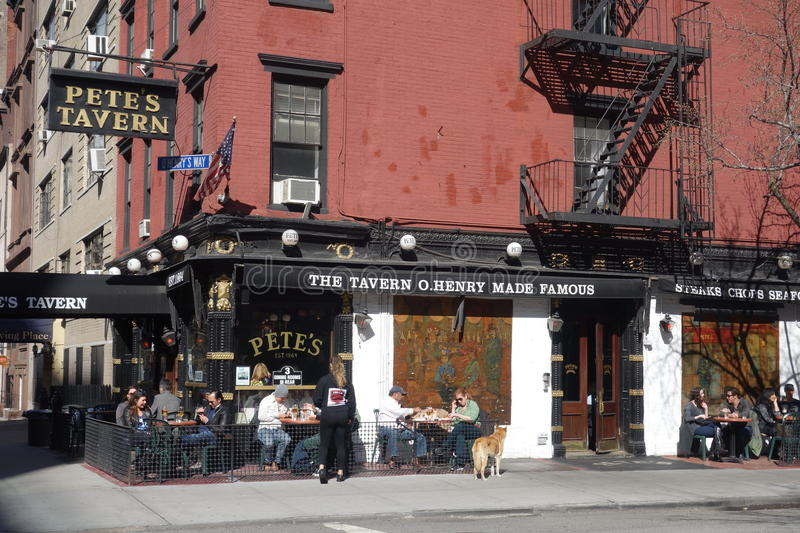 Download Pete's Tavern editorial stock image. Image of pete, henry - 39505019