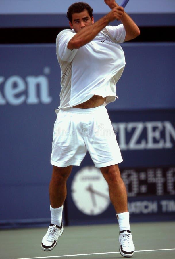 Pete Sampras tennispro- arkivbilder