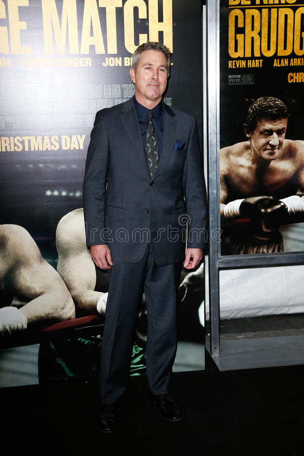 Pete Segal. NEW YORK-DEC 16: Director Pete Segal attends the world premiere of Grudge Match at the Ziegfeld Theatre on December 16, 2013 in New York City stock photos