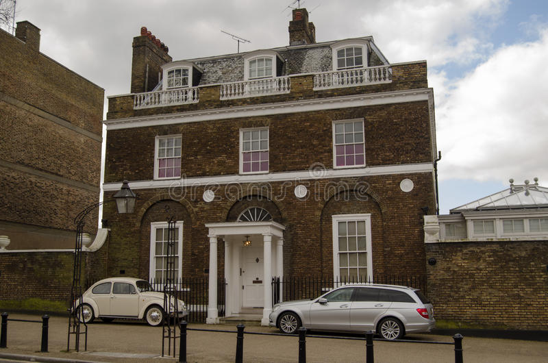 Pete Townshend Historic Home stock foto