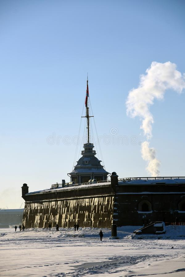Peter και φρούριο Pauls στην Άγιος-Πετρούπολη, Ρωσία στοκ φωτογραφία με δικαίωμα ελεύθερης χρήσης