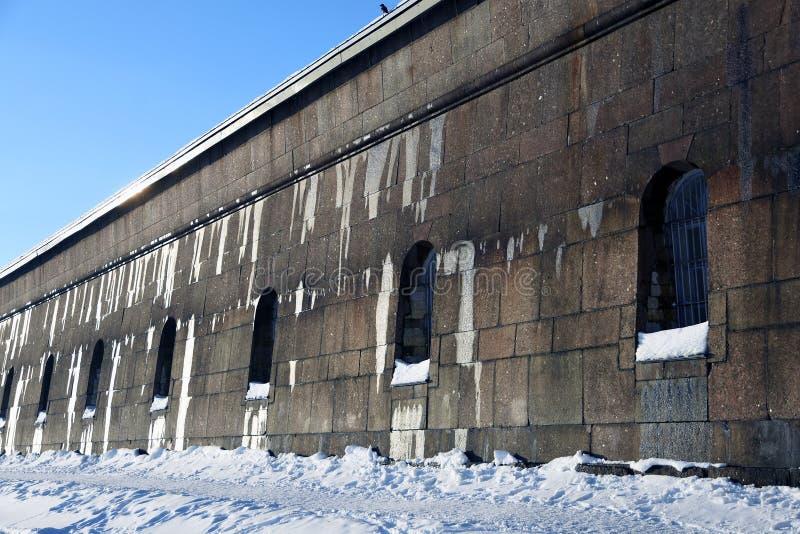 Peter και φρούριο Pauls στην Άγιος-Πετρούπολη, Ρωσία στοκ φωτογραφία
