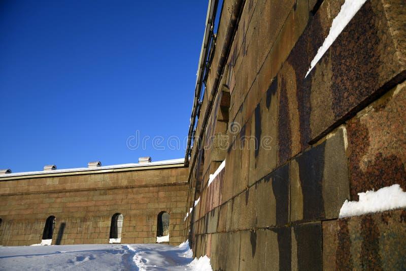 Peter και φρούριο Pauls στην Άγιος-Πετρούπολη, Ρωσία στοκ φωτογραφίες με δικαίωμα ελεύθερης χρήσης