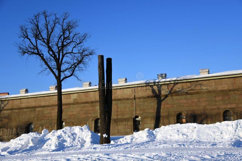 Peter και φρούριο Pauls στην Άγιος-Πετρούπολη, Ρωσία στοκ εικόνες
