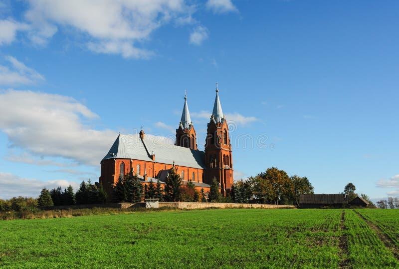 Peter και καθολική εκκλησία του Paul σε Staryje Vasilishki στοκ φωτογραφία με δικαίωμα ελεύθερης χρήσης