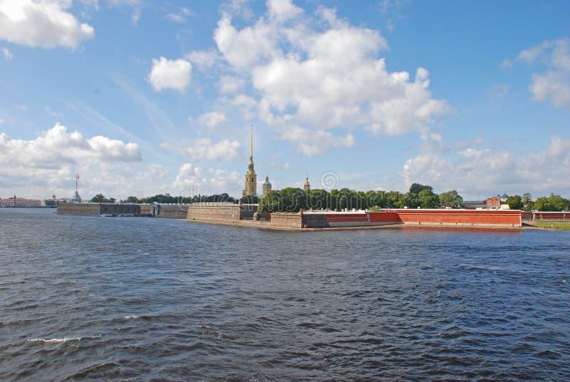 Peter και φρούριο του Paul, Άγιος-Πετρούπολη, Ρωσία στοκ φωτογραφία με δικαίωμα ελεύθερης χρήσης