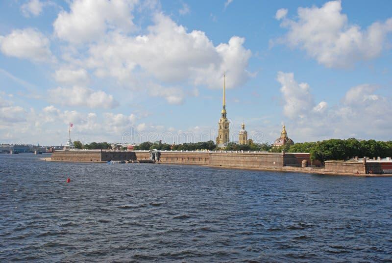 Peter και φρούριο του Paul, Άγιος-Πετρούπολη, Ρωσία στοκ φωτογραφίες