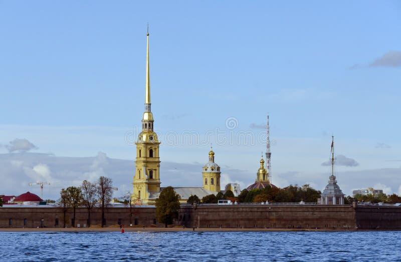 Peter και φρούριο Pavel στοκ εικόνες