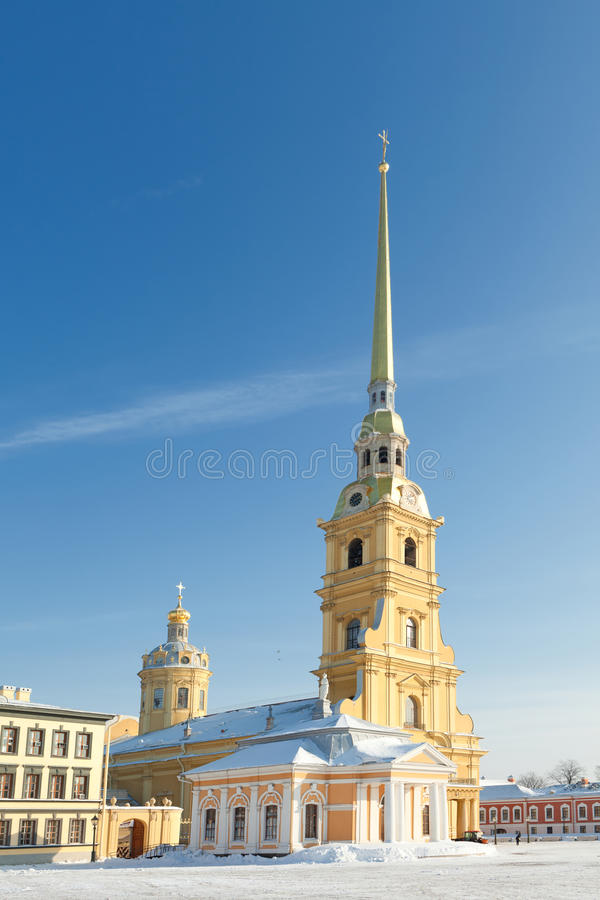 Free Peter And Paul Cathedral Stock Images - 18483704