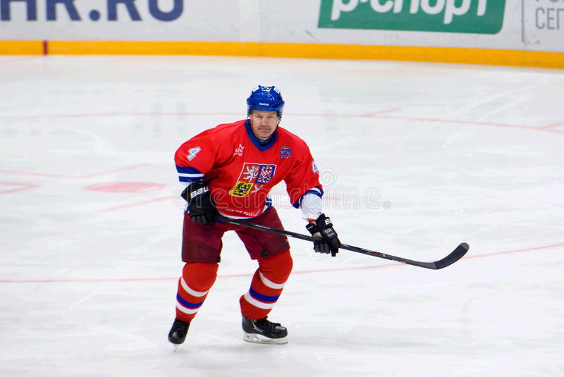 Peter Andersson (4) in action royalty free stock image