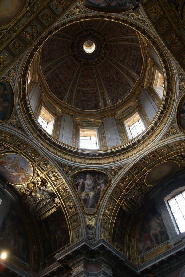 Peter bazyliki s st. obraz royalty free
