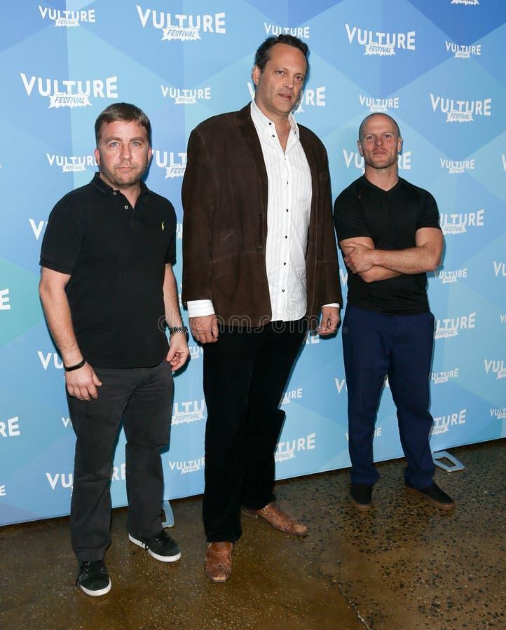 Peter Billingsley, Vince Vaughn, Tim Ferris stock photos