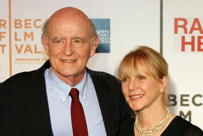 Peter Boyle en Lorraine Alterman Boyle royalty-vrije stock afbeelding