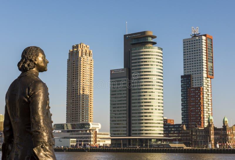 Peter de Grote Rotterdam imagen de archivo