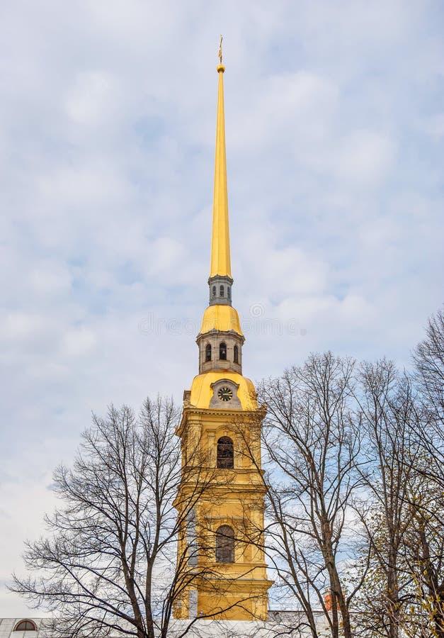 Peter e Paul Cathedral em St Petersburg imagens de stock royalty free