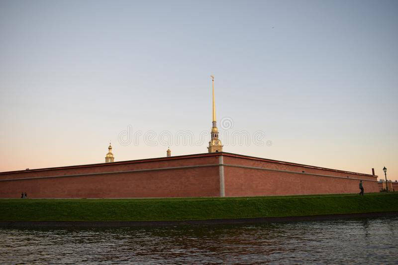 Peter e Paul Fortress no St Petersburg imagem de stock royalty free