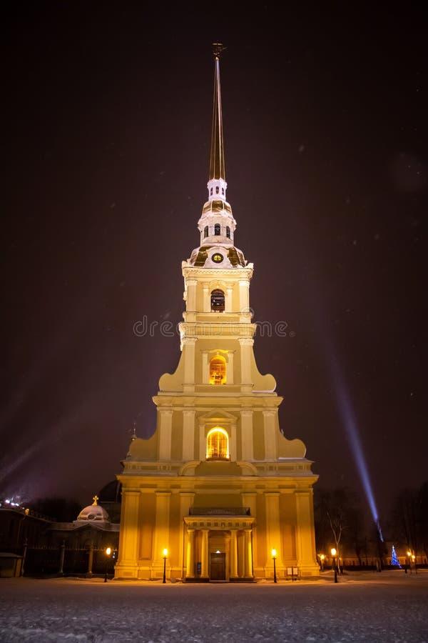 Peter en Paul Cathedral, heilige-Petersburg, Rusland royalty-vrije stock foto's