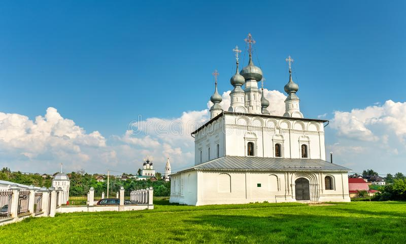 Peter en Paul Church in Suzdal, Rusland stock fotografie