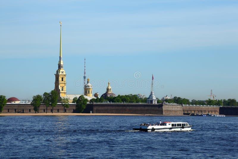 Peter en Paul Fortress, St. Petersburg royalty-vrije stock afbeelding