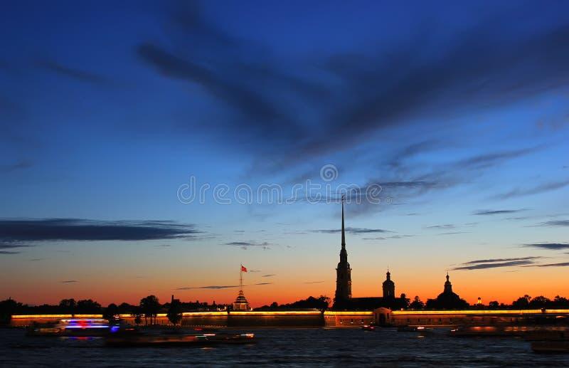 Peter en Paul Fortress, St. Petersburg, Russi royalty-vrije stock afbeeldingen