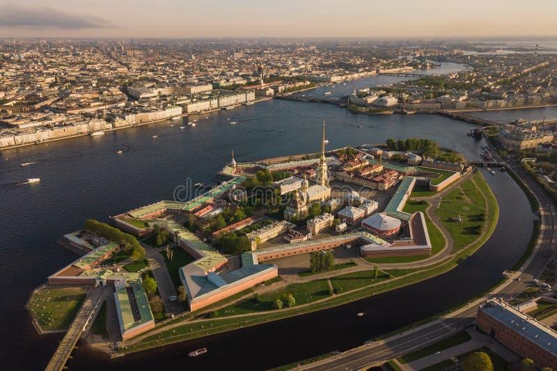 Peter et forteresse de Paul à St Petersburg photographie stock