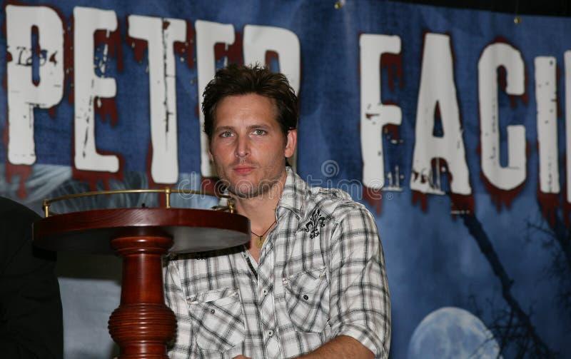 Peter Facinelli of the Twilight Saga royalty free stock photos
