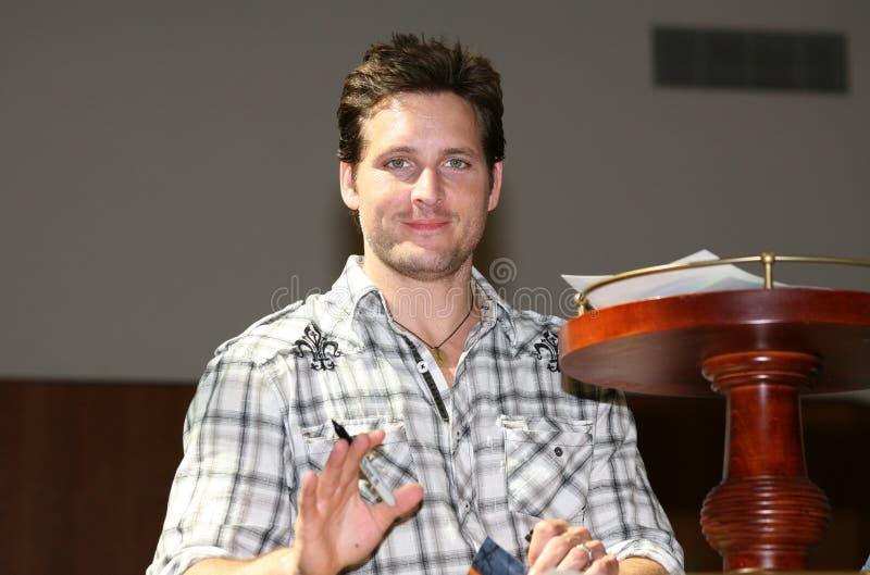 Peter Facinelli of the Twilight Saga royalty free stock photo